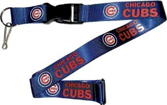 - MLB Chicago Cubs Team Color Lanyard, 22-inches, Blue