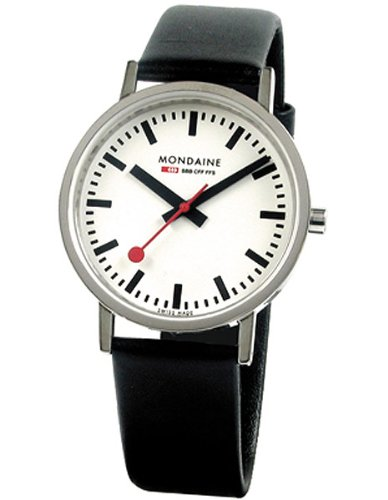 Mondaine Classic Gents - Polished - 36 mm - white dial -  A660.30314.11SBB (White Polished Dial)