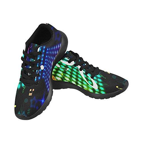 InterestPrint Womens Jogging Running Sneaker Lightweight Go Easy Walking Casual Comfort Sports Running Shoes Multi 8