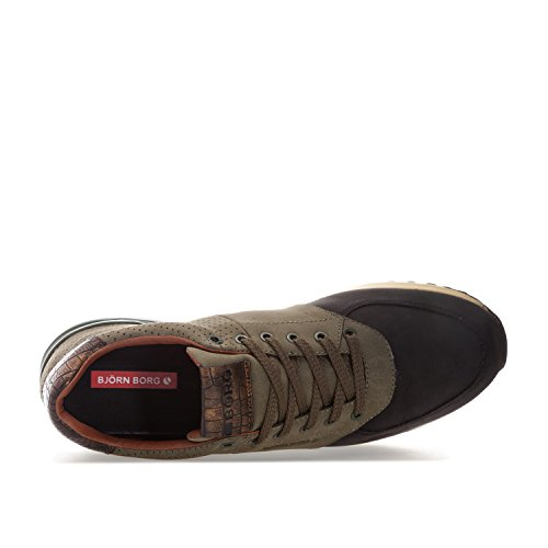 Borg in Low R200 Cam Trainers Bjorn Black Olive Men's PgOqw5T