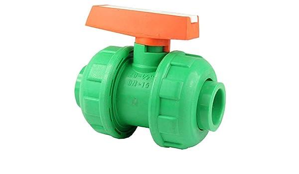 PPR Aqua de Plus - Válvula de bola para tubos de 20 mm, fusiot herm: Amazon.es: Bricolaje y herramientas