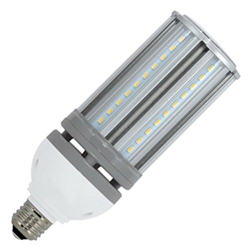 (6-Pack) Satco S9391 - 22W/LED/HID/5000K/100-277V 22W 5000K E26 Base 100W HID Replacement LED Light Bulb by Satco