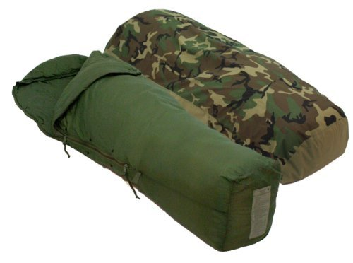 Military Issue Patrol Sleeping Bag and GoreTex Bivy Cover