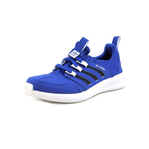 Adidas CL Loop Runner J Blue White Youths Trainers Blue White