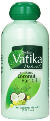 Dabur Vatika Enriched Coconut Hair Oil 150ml (Pack of 2)