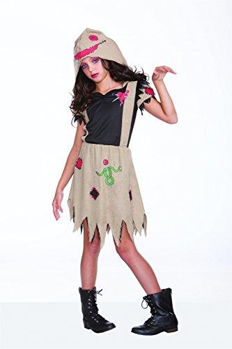 Girl's Voodoo Dolly Costume Medium/Large