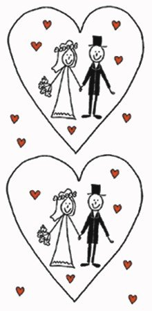 2x 10 Taschentücher Motiv Auswahl möglich marriage - Hochzeit