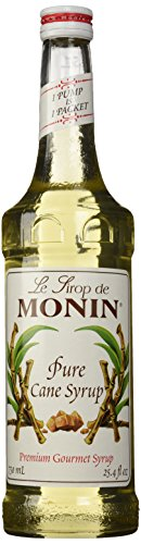 Monin Pure Cane Sugar Syrup, 750 mL