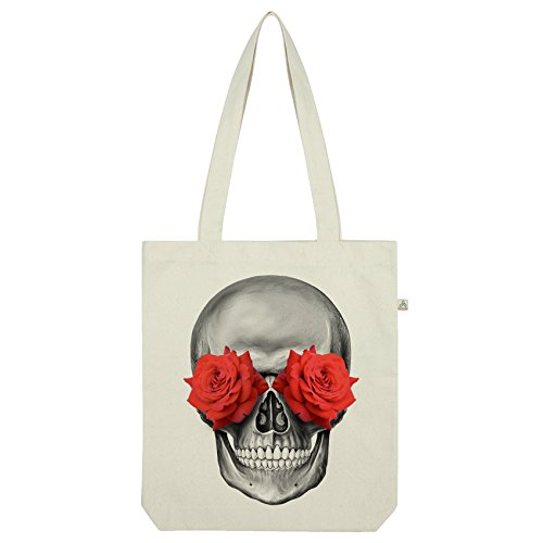 Tote Twisted Envy Rose Bag Skull Eye Rose Twisted Envy Eye White A68wfxCq