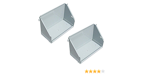 2 Battery Boxes Fits Mpl Moline Oliver White 1550 1555 1600 1650 1655 1750 1800