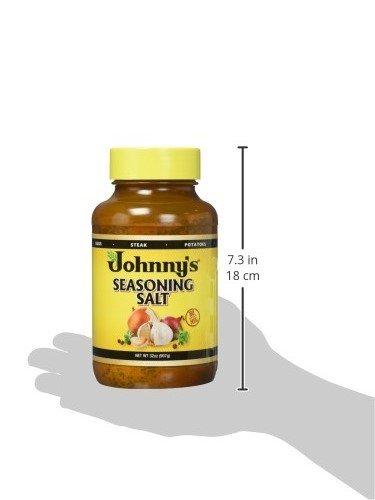 Johnny's Seasoning Salt, 32-Ounce Bottles (Pack of 3) by Johnny's (Image #7)