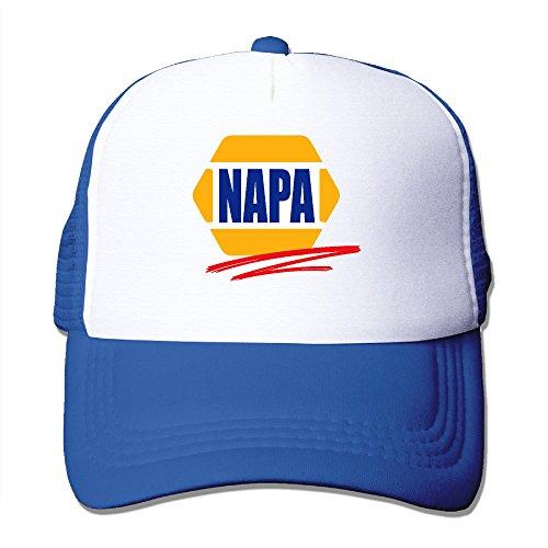 adult-napa-car-racing-automotive-parts-adjustable-mesh-hat-trucker-baseball-cap-royalblue