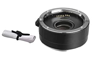 Sony SAL-1680Z 16-80mm f/3.5-4.5 Carl Zeiss Vario-Sonnar T* DT 2x Teleconverter (4 Elements) + Nwv Direct Microfiber Cleaning Cloth.
