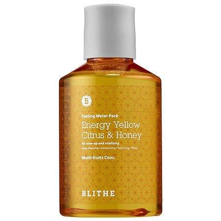 Blithe Patting Splash Mask - Yellow Citrus & Honey 150ml by Blithe
