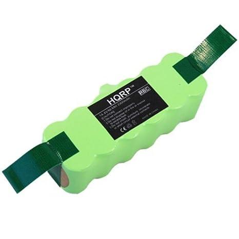 HQRP 3300mAh APS Batería para iROBOT Roomba R3 500 510 521 530 531 532 534 535 540 565 570 580 581 610 625 760 770 780 Robot aspirador: Amazon.es: Hogar