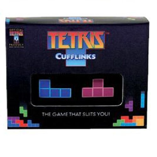 Make sure you are on your game and look super sharp with our Tetris cufflinks! by Tetris
