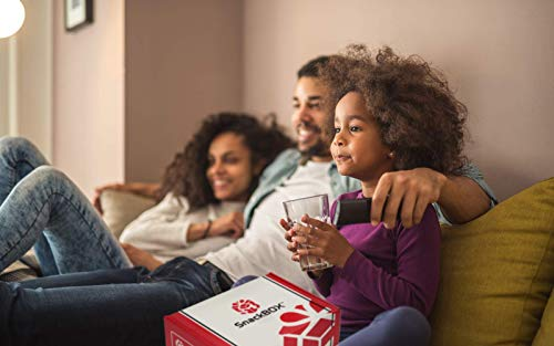 Redbox Movie Night Care Package with Popcorn, Candy and Movie Rental for College Students, Father's Day, Gift Ideas…