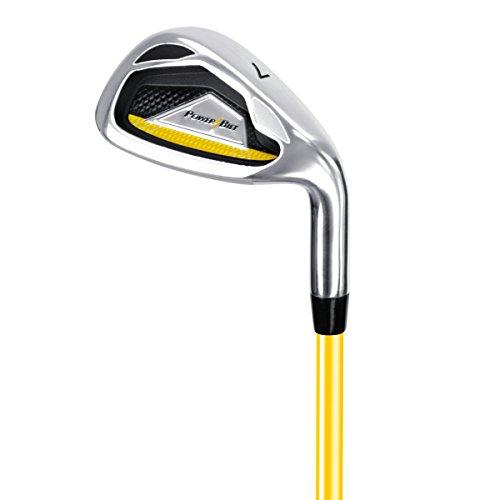 PowerBilt Junior Ages 0-3 7-Iron Golf Stick, Right Hand, Yellow