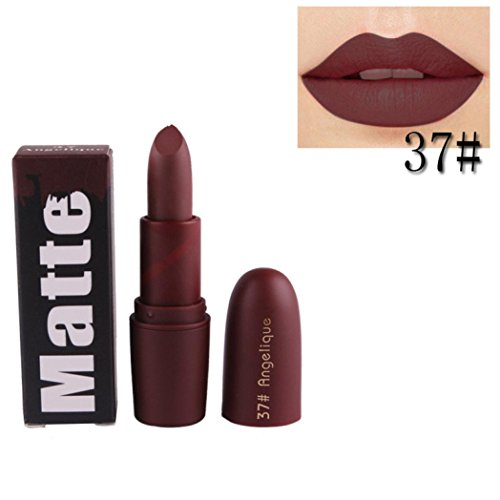 - Matte Lipstick , Vanvler Waterproof Long Lasting Liquid Charming Lipstick Shimmer Velvet Makeup Lip Gloss (G 37#)