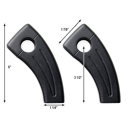 3.5 Black Bike Handlebar Pullback Risers 7//8 For Triumph Bonneville America T100 SE
