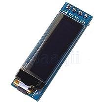 """Hidream®0.91"""" OLED Display Module 128*32 LCD Screen IIC I2C Serial Port For Arduino"""