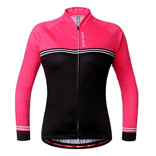Cyclisme Gwell Veste De Femme Vêtement Manches Hiver Vélo Longues wwtZ4qB