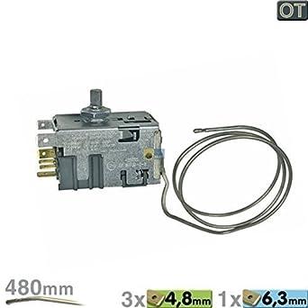 TERMOSTATO Danfoss 25T65 EN60730-2-9 Importante Nº 077B6702 BSH Original Siemens Nº 171320