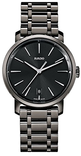 Rado DiaMaster XL Black Dial Ceramic Men's Watch R14066182