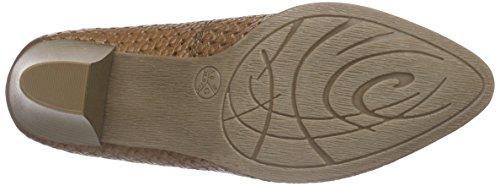 Jana 22401 - Zapatos de Tacón Mujer Marrón - marrón (Nut 440)
