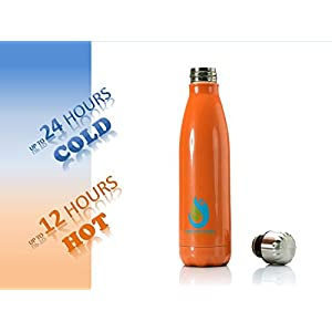 Insulated Sport Water Bottle – Reusable – bundled with Multifunctional 7-in-1 Survival Kit