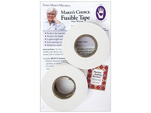 Marti Michell Fusible Tape 1x 30yd 2 Rolls