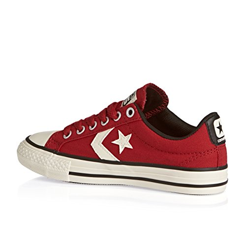 Converse Youths All Star Player EV Ox Casino Textile Trainers Rojo - rojo
