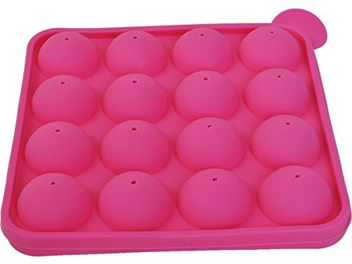 Super buy 16 Cup Tasty Top Cake Pop Mold Tray Easy Instant Silicone Baking Flex Pan
