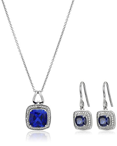 sterling-silver-created-sapphire-cushion-cut-pendant-necklace-earring-box-set-18