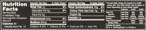 Buy low sodium crackers