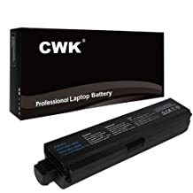 CWK® 12 Cell 8800mAh High-Capacity Battery for Toshiba Satellite L755 L755D L770 L770D PA3817U-1BRS L770 L770D L775 L750 L750D L750D-14R L740 L745 L745D L755 L755D L755-S524 Toshiba L700 L730 L735 L740 L670 L670D L675 L675D PABAS117 PA3817U-1BRS PABAS117 Toshiba Satellite U405-ST550W U405D L700 L700D L730 L735 PA3817U-1BRS PA3817U-1BAS L755D-S5227 L755-S5249 L775D-S7226 L755D-S5359 L775D-S7206/S7335 L775D-S7222 L775D-S7332 L755-S5254 L755-S5258 L755-S5256 L755-S5255