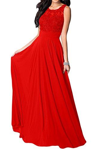 para Rojo Vestido mujer trapecio Missdressy p8qEIBxwzn
