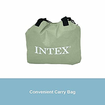 """Intex Pillow Rest Raised Airbed with Built-in Pillow and Electric Pump, Twin, Bed Height 16.5"""" from Intex"""