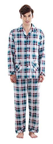 6 Notte Set Blue Due Pezzi Pajama Pigiameria Usura Uomo 2 Pj Pigiama qwFxHPqn8