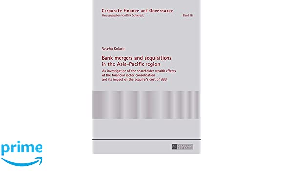 impact of mergers and acquisitions on shareholders wealth