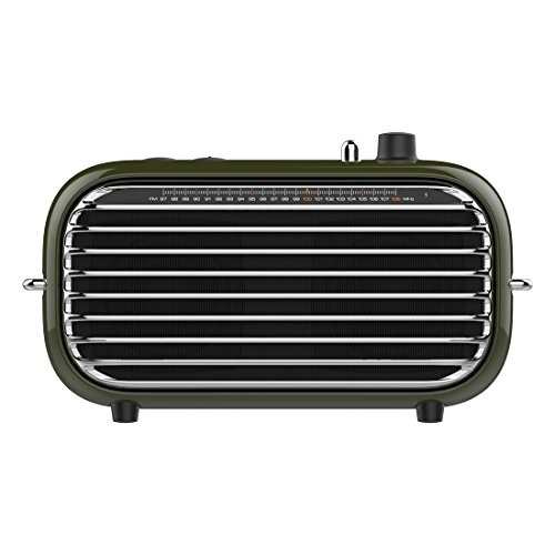 - Vintage Bluetooth Speaker, LOFREE Poison Retro Speaker with FM Radio/20W Audio Output/Powerful Bass Enhancement, Wireless Speaker for Travel,Party and Pool