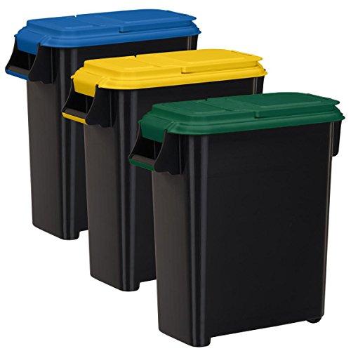 Buddeez Recycling Containers 20 Gallon 80 Quart