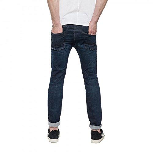 Replay Anbass Slim Fit Hyperflex Jeans 34S INDIGO