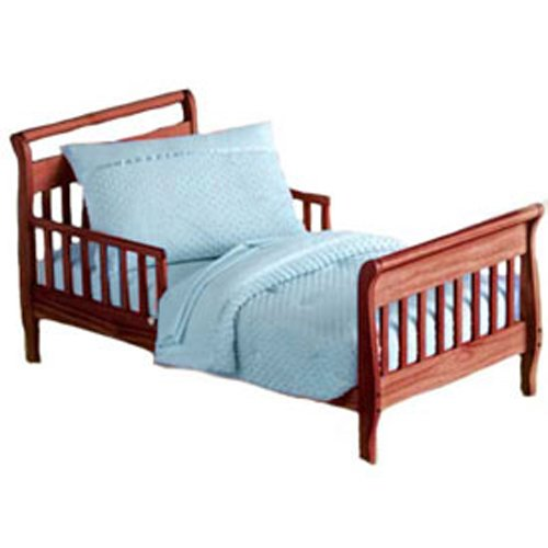 Baby Doll Bedding Heavenly Soft Toddler Bedding Set, Blue
