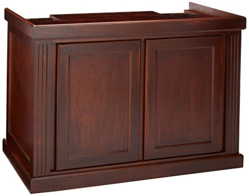 (Perfecto Manufacturing APF60343 Monterey Stand for Aquarium, 48 by 24-Inch, Red Oak)