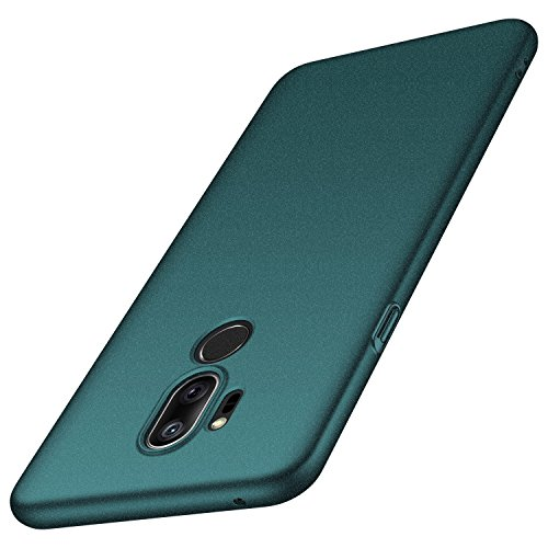 anccer Compatible for LG G7 ThinQ Case [Colorful Series] [Ultra Thin Fit] Premium PC Material Slim Cover for LG G7 (Gravel Green)