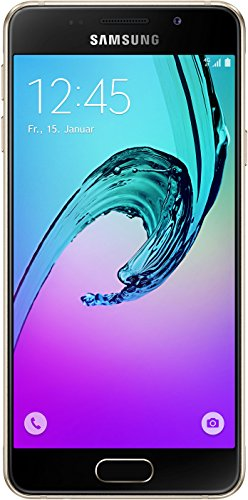 Samsung Galaxy A3 (2016) Smartphone (4,7 Zoll (12,04 cm) Touch-Display, 16 GB Speicher, Android 5.1) gold