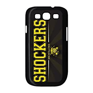 Customize NCAA Basketball Team Wichita State Shockers Back Cover Case for Samsung Galaxy S3 i9300