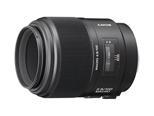 Professional Sony Alpha Dslr (Sony 100mm f/2.8 Macro Lens for Sony Alpha Digital SLR Camera)