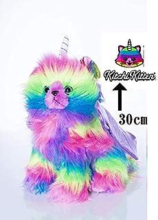 Kitchi Kitten Rainbow Butterfly Unicorn Kitten Plush Stuffed Toy